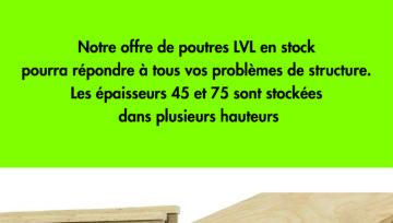 Infos poutres lamellées collées / LVL